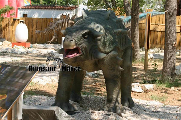 Life Size Animatronic Ankylosaurus Dinosaur for Sale