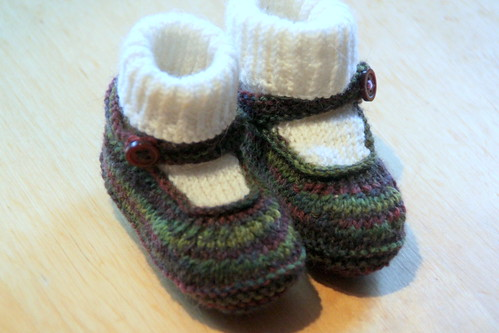 knit mary janes.