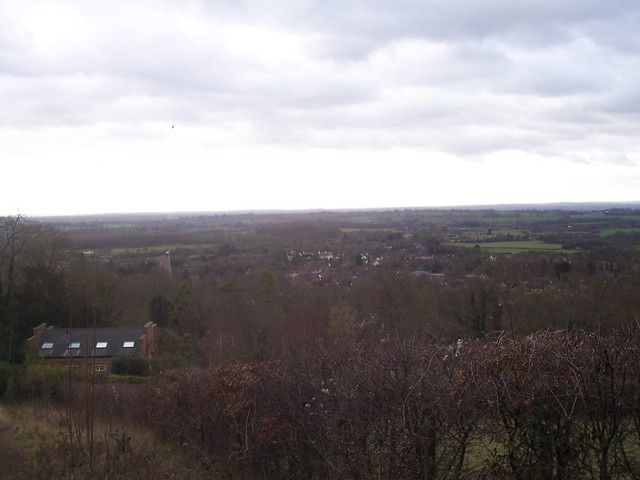 View from Charing Hill