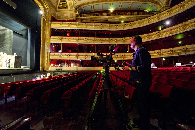 Royal Opera Live: behind-the-scenes at the stage and piano rehearsal for The Minotaur ©  ROH / Sim Canetty-Clarke 2013