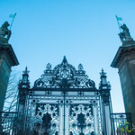 Entrance to Holyrood Palace - Edinburgh, Scotland