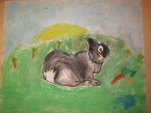 Student Bunny 1