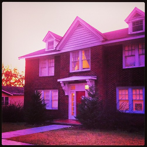 Our home at sunset. #blessings #godisgood #lifeatwewillgo