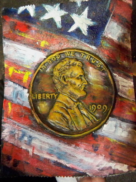 Lincoln Coin Art