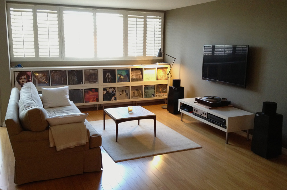Post photos of your systems rooms here part 10 page for Music living room ideas