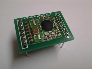 RFM12B Breakout Board