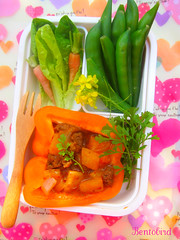 thai beef curry bento
