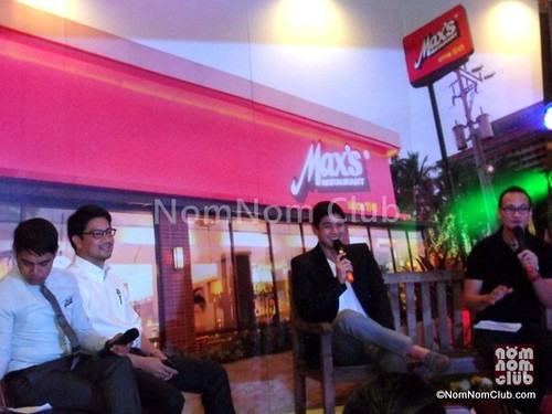 "Max's Restaurant Presscon with ""Juan Dela Cruz"""