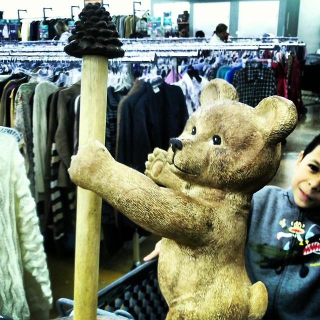 #thrifting