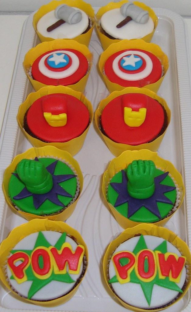 Cupcakes Vingadores