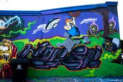 Simpsons - Wonton ADK -  AlvaGraphics GraffAlot   Houston Graffiti