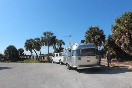 Day 165: Out of the campground and on to the beach.