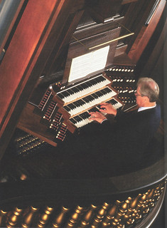 The Hill Memorial Organ, designed by the C.B. Fisk Co. and installed in Bridges Hall of Music in 2001
