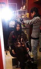 Thực hành sấy tóc lá bám cúp Hair salon Korigami 0915804875 (www.korigami (6)