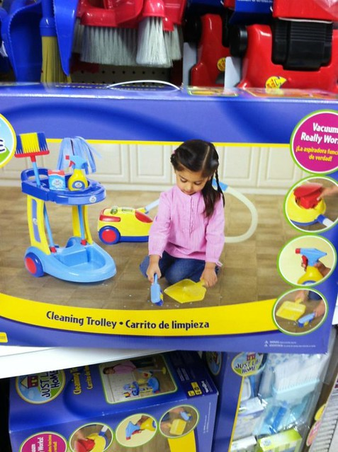 Cleaning Trolly Toy