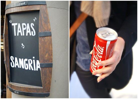 tapas+coke