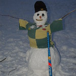 Frosty the Norwich City Snowman