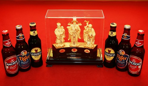 This festive season, enjoy big bottles of GAB's three iconic brews, Guinness, Tiger or Anchor to stand a chance to win one of nine solid gold Fu Lu Shou sets worth RM 10,000 each or 999 gold-plated Fu Lu Shou sets worth RM 1,000 each. You can also redeem 18 bottle liners for a Fu Lu Shou set to ensure good favour, wealth and health in the new year ahead.
