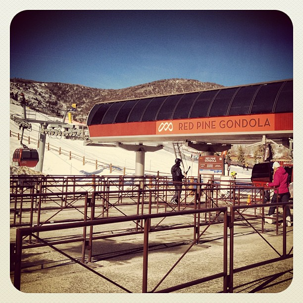 Why you should ski during Sundance: no lines!