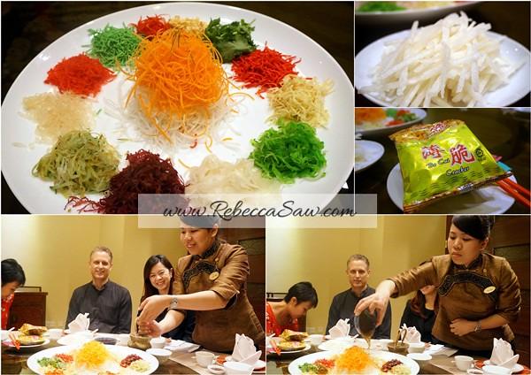 Chinese New Year Menu 2013 - Tai Ze Heen, Prince Hotel KL