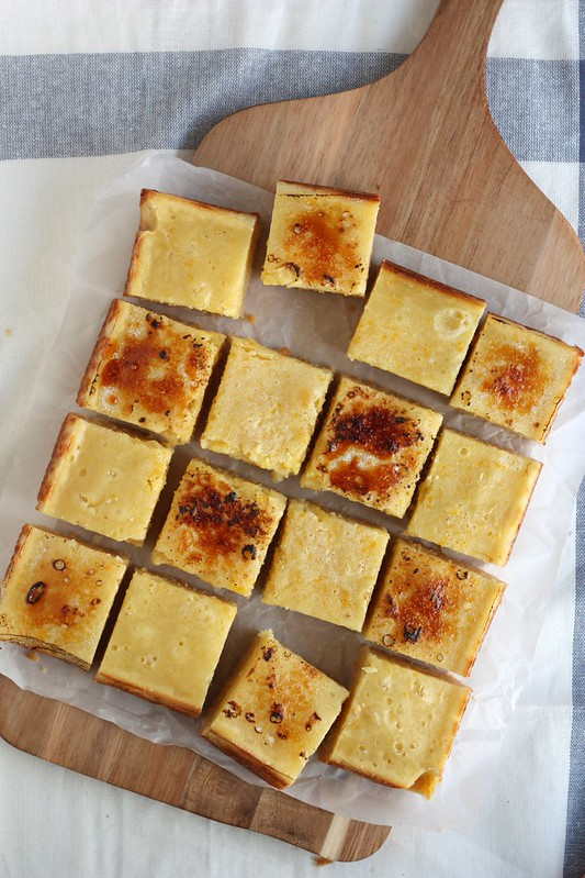 Bruleed  Meyer Lemon Bars