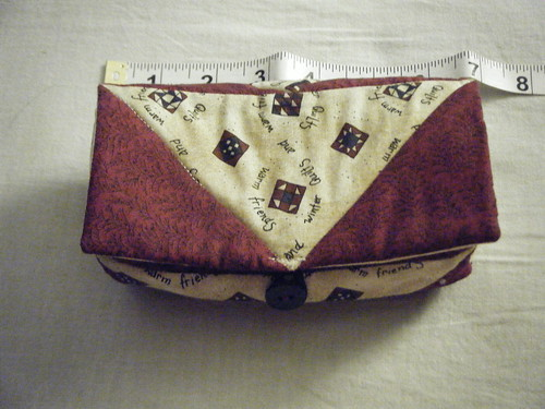 Flying Geese hand-sewing notions bag
