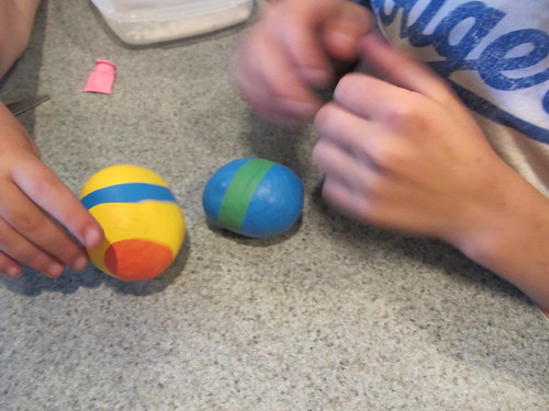 Making squishy balls