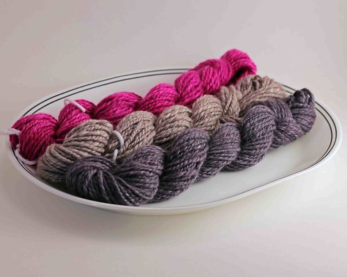 SCF - Polwarth Silk - Aster Moon Rock India Ink