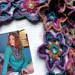 Echarpe étoilée Crochet Bohème by eclectic gipsyland