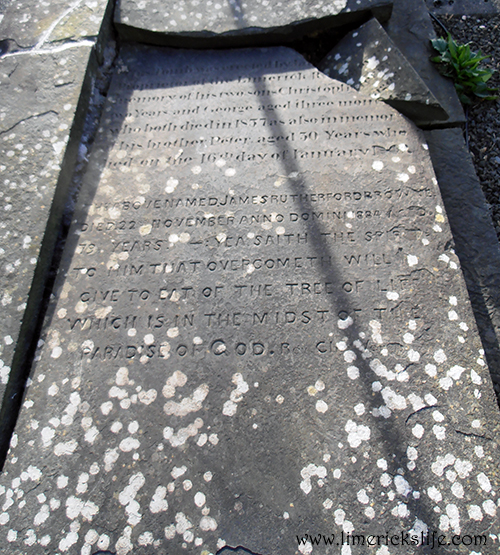 St. Mary's headstone