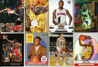 #3-BASKETBALL SPORTS CARD LOT