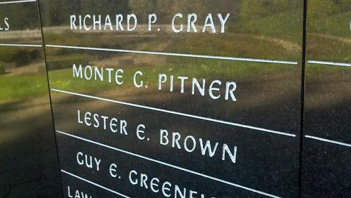 pitner's name