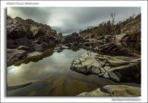 longexposure morning reflection rock sunrise rocks maryland potomacriver greatfallsmaryland