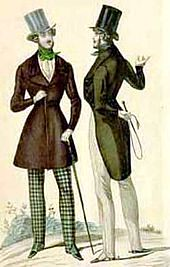 Pair of Parisian dandies.