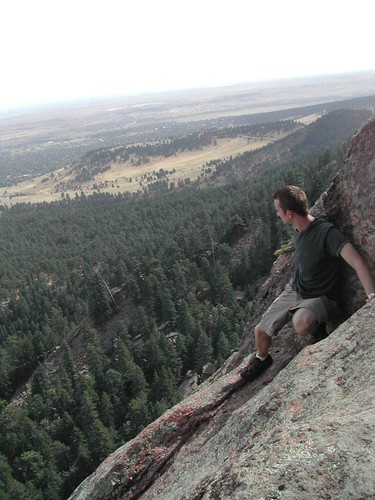 Greg Rock Climbing