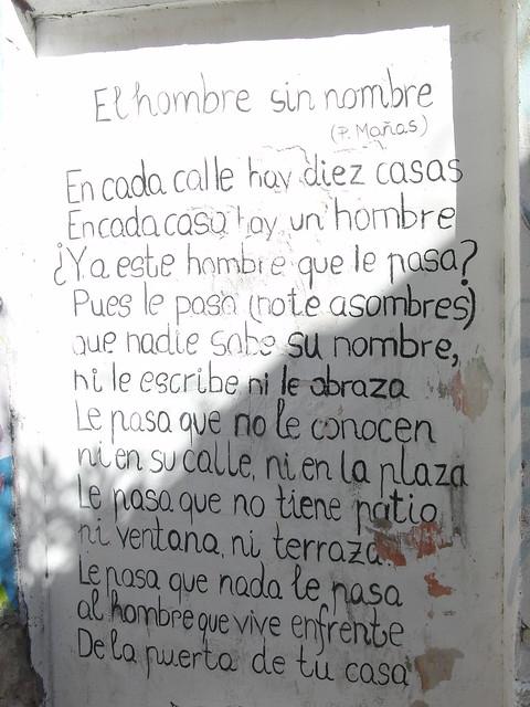 Santa Cruz, barrio poético