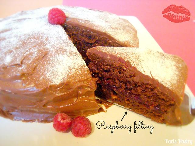 Luscious 巧克力 覆盆子Cake