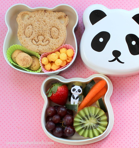 Panda bento box lunch
