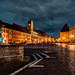 Small photo of Illuminated Main Square of Cheb