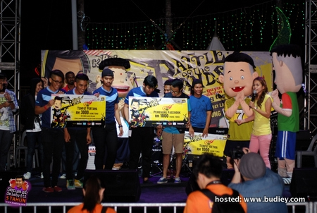 SOG Juara Battle Of The Band Bola Kampung The Movie