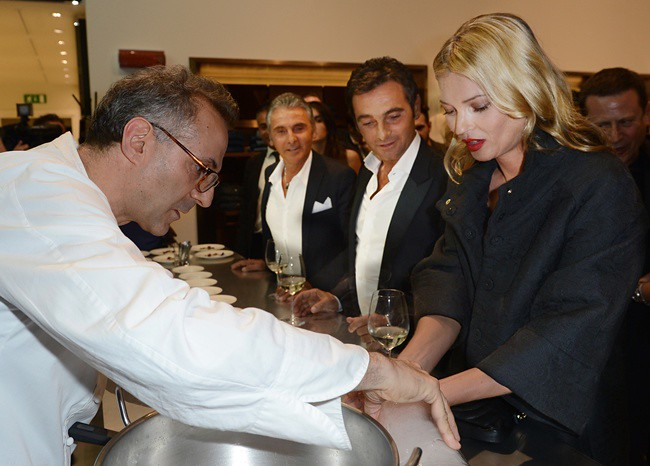 4 Kate Moss with Marco and Vannis Marchi