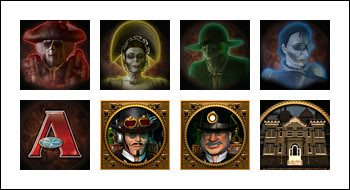 free Phantom Cash slot game symbols