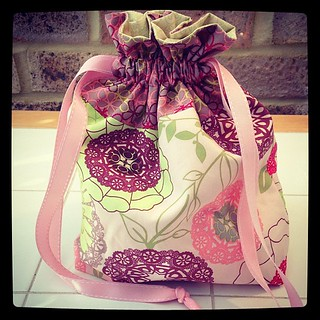Another drawstring bag!