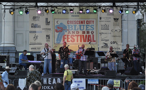 Blues and BBQ Fest, Luther Kent and Trick Bag