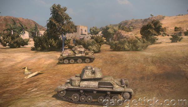 Тест обновления World of Tanks 0.8.1