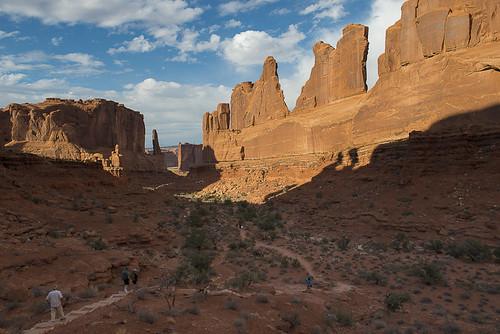 Park Avenue - NPS/Neal Herbert - Arches National Park, Utah