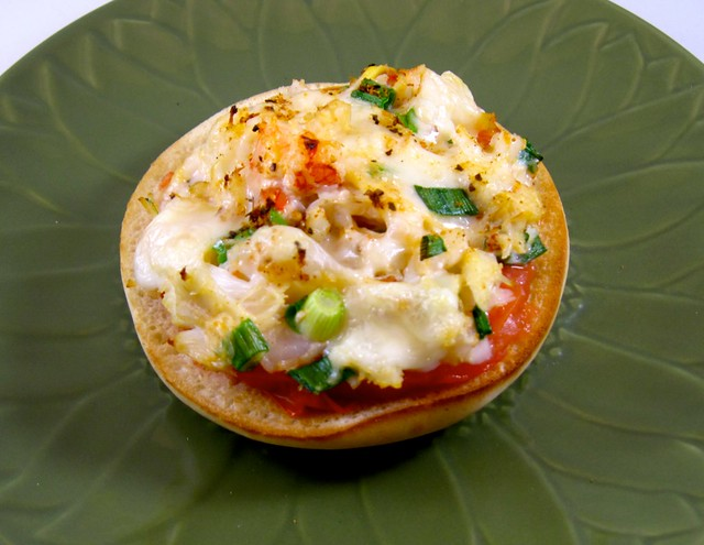 Seafood Melt on Toasted Bagel Thin | Lunch today (10/13) - s ...