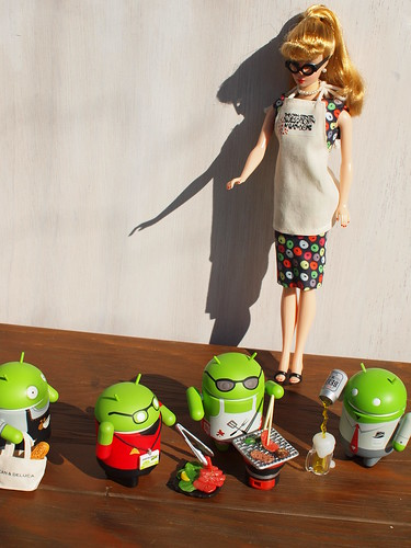 Android BBQ Party & Trophy Wife