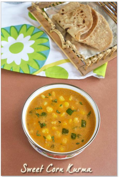 Sweet Corn Kurma Recipe