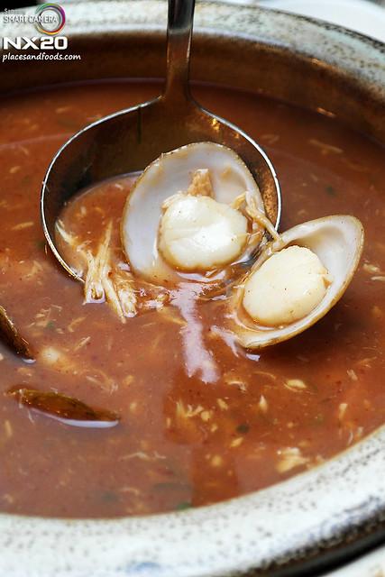 ritz carlton seafood soup